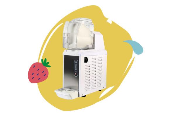 Une mini machine à yaourt glacé pour professionnels, avec accès à notre recette de yaourt naturelle et artisanale