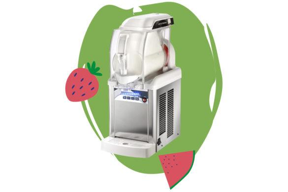 Une petite machine à glace et frozen yogurt de comptoir, créée pour notre recette de yaourt glacé naturelle