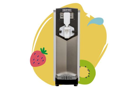 Une petite machine à glace italienne soft, aussi efficace en petite machine à Frozen Yogurt artisanal