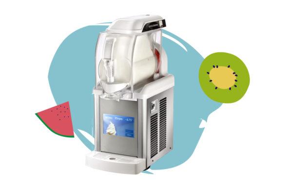 La solution pour Yaourt Glacé artisanal idéale, une machine à glace de comptoir polyvalente