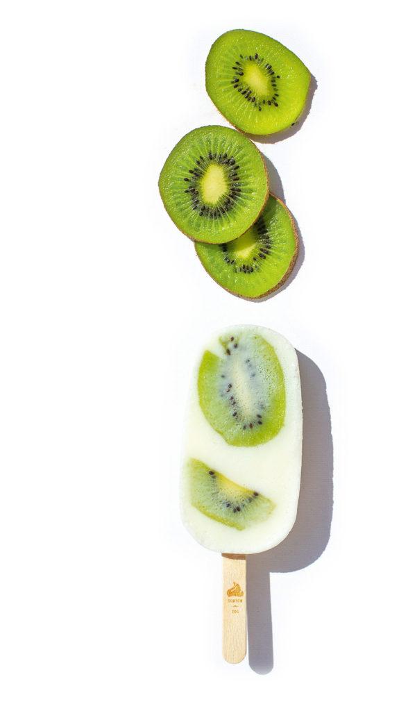 L'esquimau ice pop frozen yaourt kiwi, le naturel au service de l'artisanal